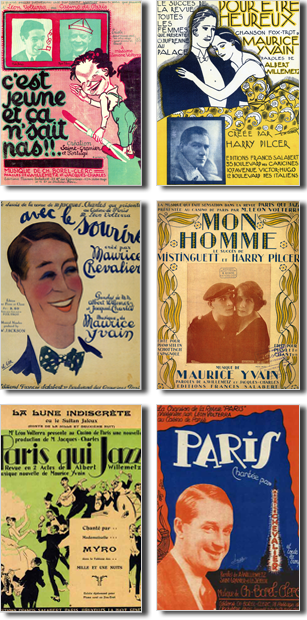 Affiches Operettes d'Albert Willemetz
